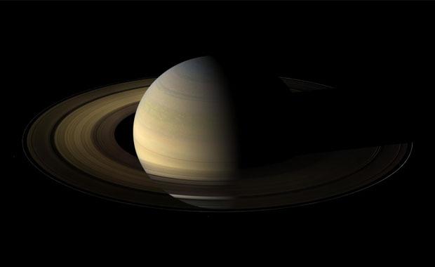 Saturno y sus anillos