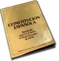 Constitucion espaola