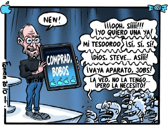iPad visto por Ferran Martín