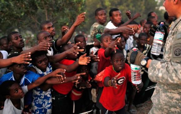 Ayuda para la población de Haití