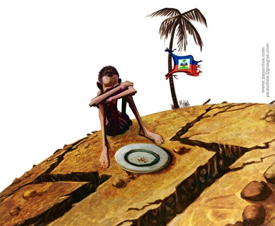 Sos Haiti de PXMolina en la Kodorniz