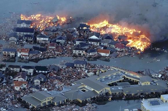mail Online. Terremoto en Japón